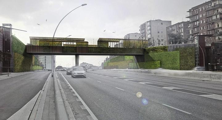 Nuevo proyecto para el puente Sarajevo en Barcelona