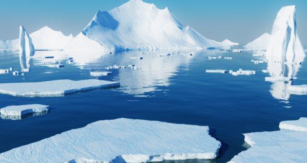 Los océanos glaciares se derriten poco a poco