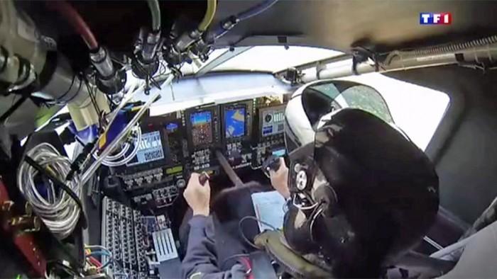 Cabina Interior del Solar Impulse 2