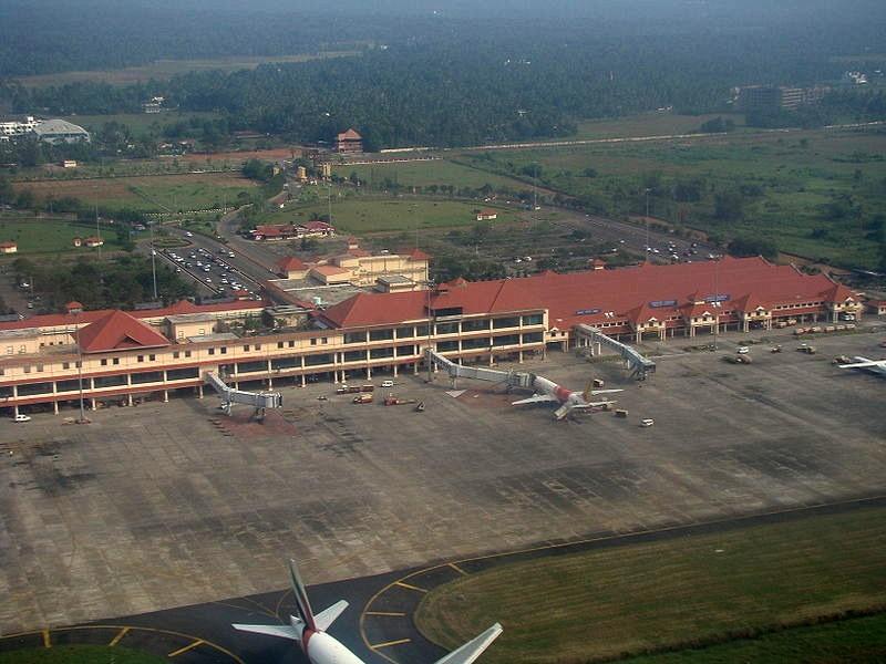 Aeropuerto de Cochín, India