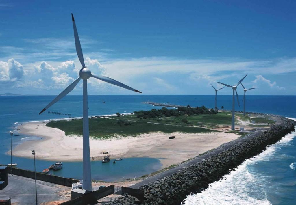 Energía eólica en Brasil