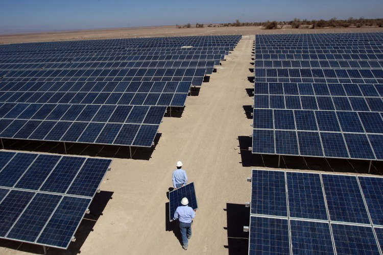 Planta fotovoltaica en Chile
