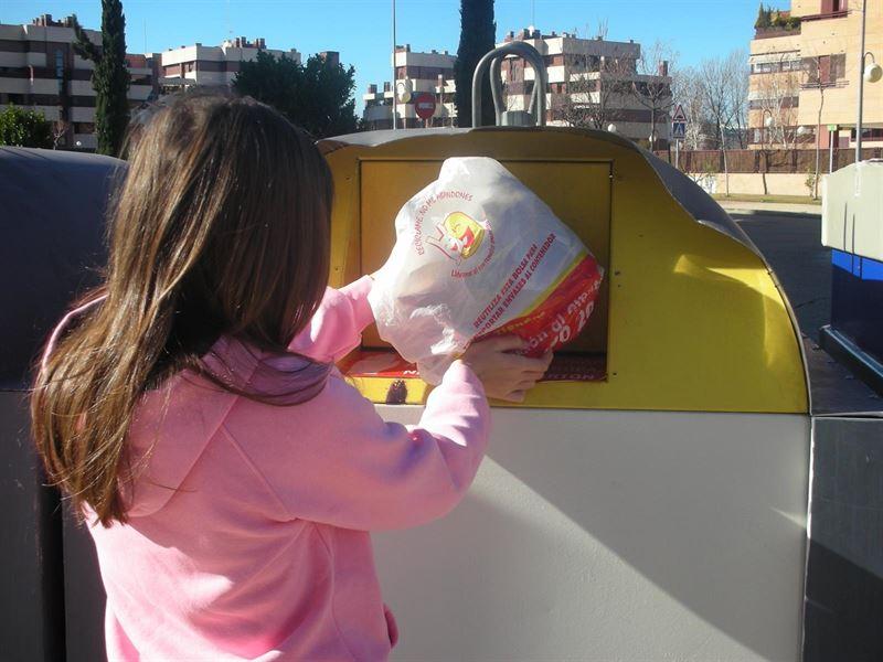 Reciclaje de plasticos en España
