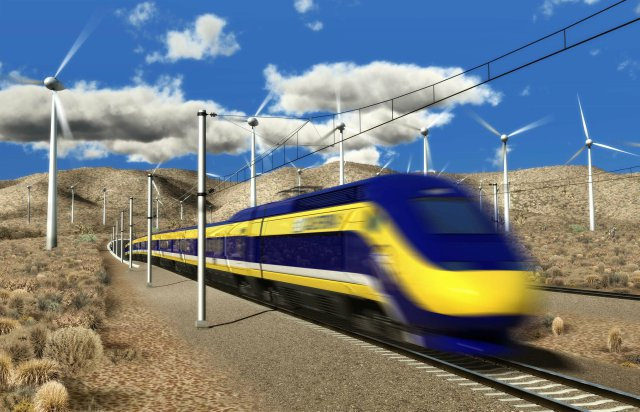 Trenes funcionarán con energia eólica en Holanda