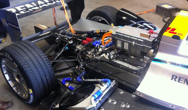 Motor de Fórmula E