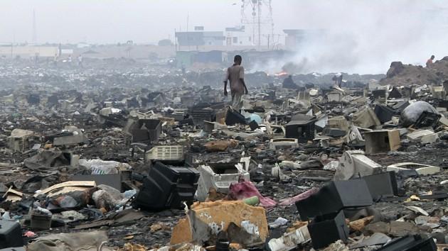Guiyu y la contaminación electrónica