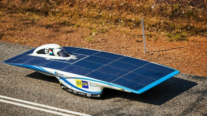 Vehículo Nuon Solar 6