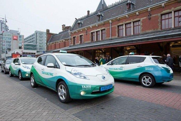 Taxis eléctricos por las carreteras de Europa