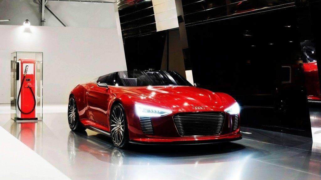 Audi linea e-tron