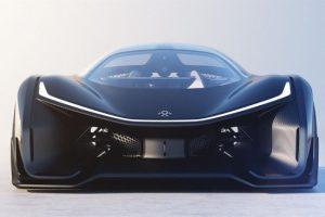 FFZERO1: El coche futurista