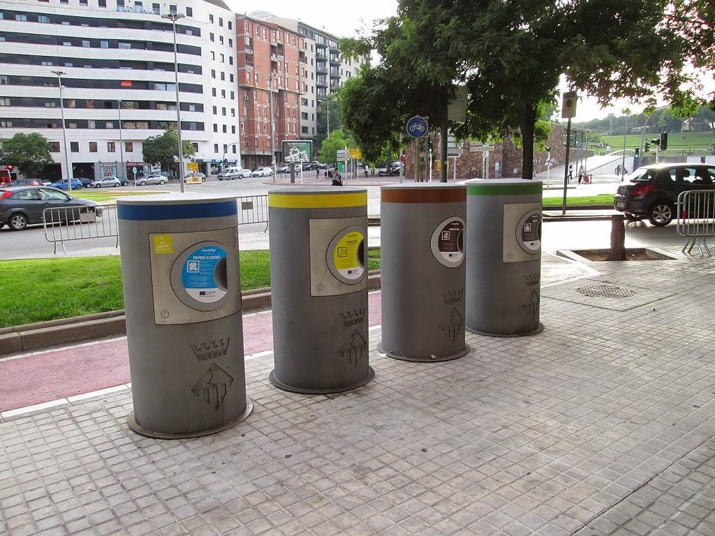 Reciclajes con buenas cifras en España