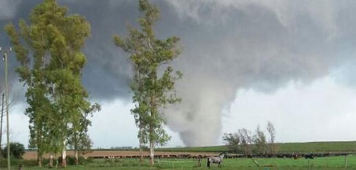 tornado en Uruguay