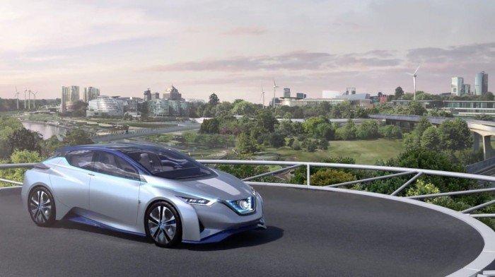 """El concepto de la """"ciudad inteligente"""" según Nissan"""