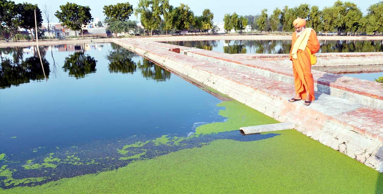 Descontaminación del río Kali Bein