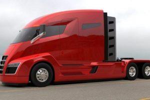 El principio de la era de los camiones semi-ecológicos