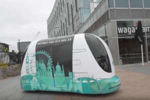 Vehículos autómatas dedicados al transporte público en Londres