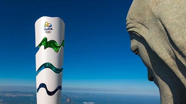 paso de la antorcha olímpica