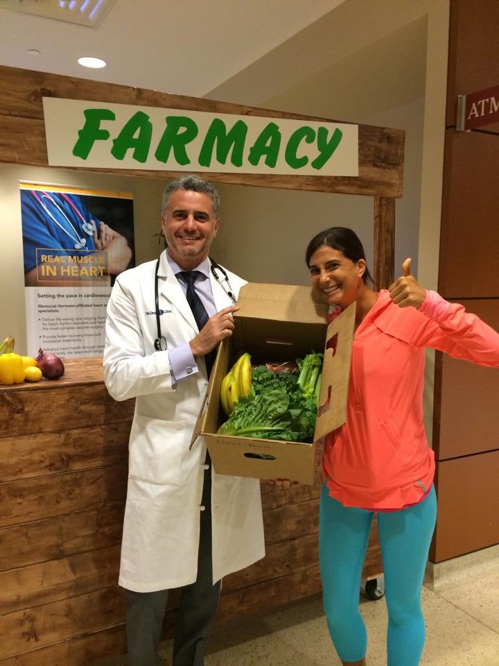 Alimentos orgánicos en vez de medicamentos