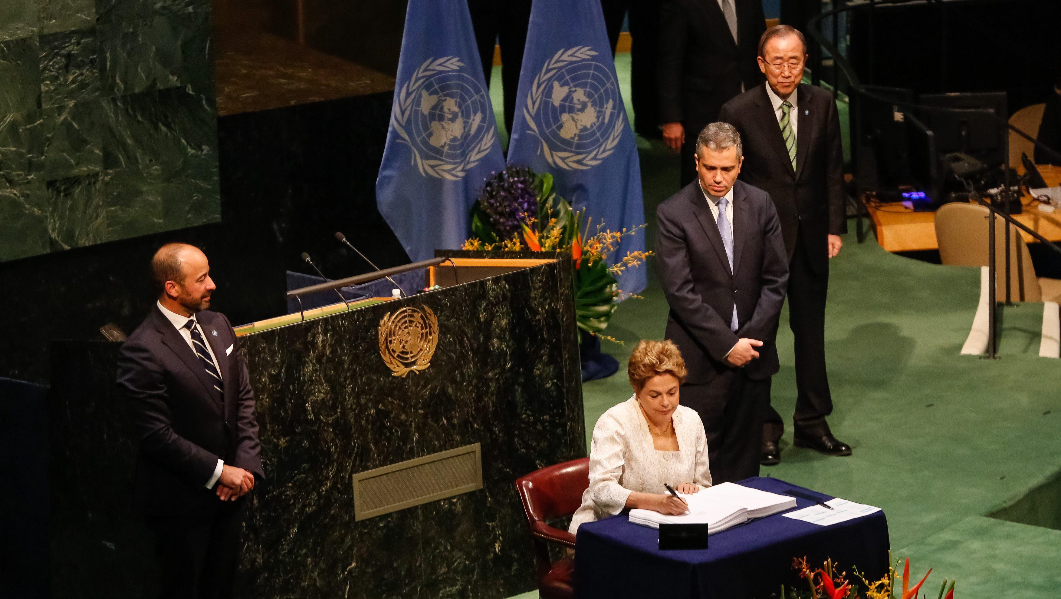 Retoman Acuerdo de París en contra del cambio climático