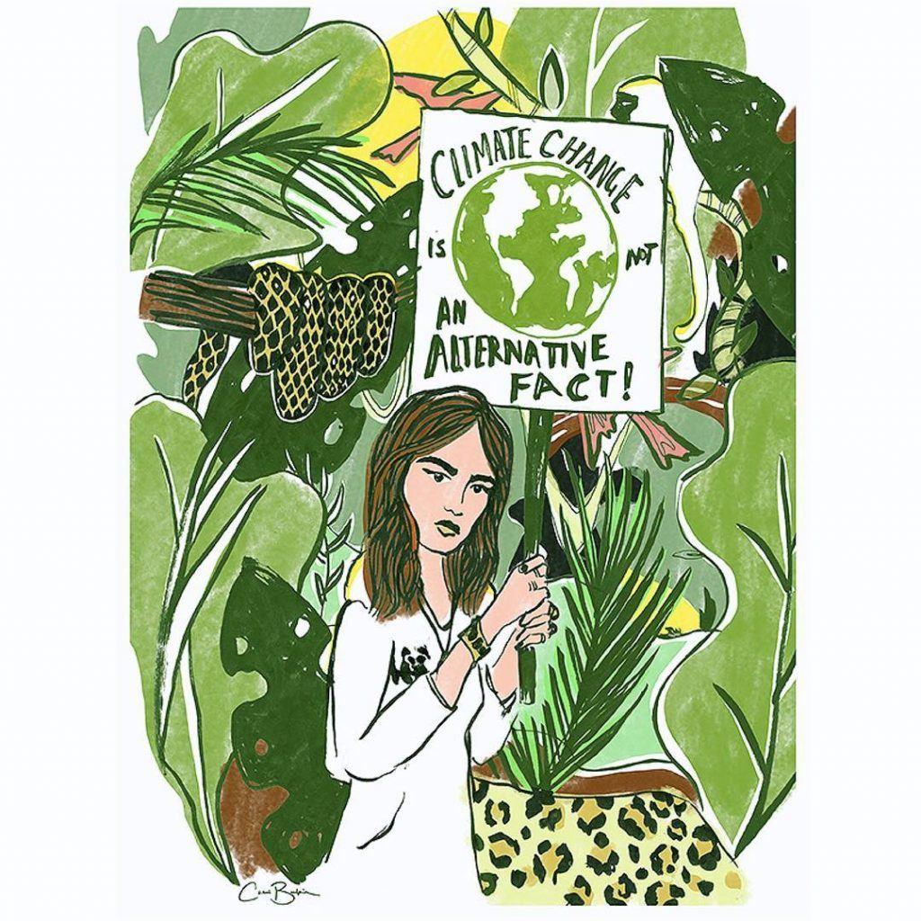 ilustracion Chloe extincion animales