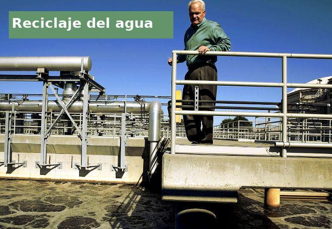 reciclar agua