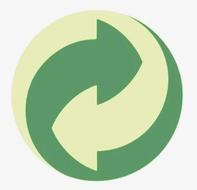 símbolo punto verde
