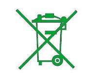 simbolo reciclaje aparatos electricos