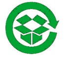 simbolo reciclaje cartones y papeles