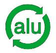 simbolo reciclaje metales y aluminio
