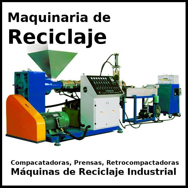 maquinaria de reciclaje